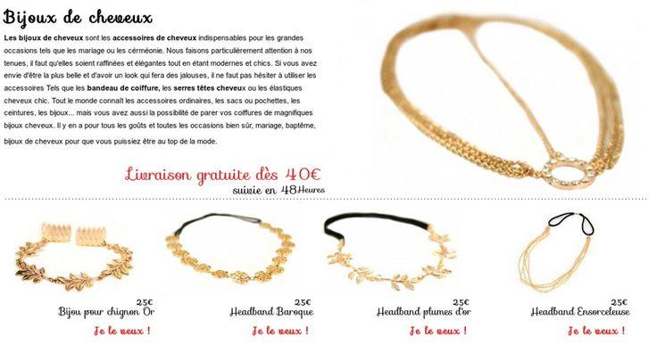 Bijoux Pour Cheveux Vintage : Best bijoux de cheveux images on