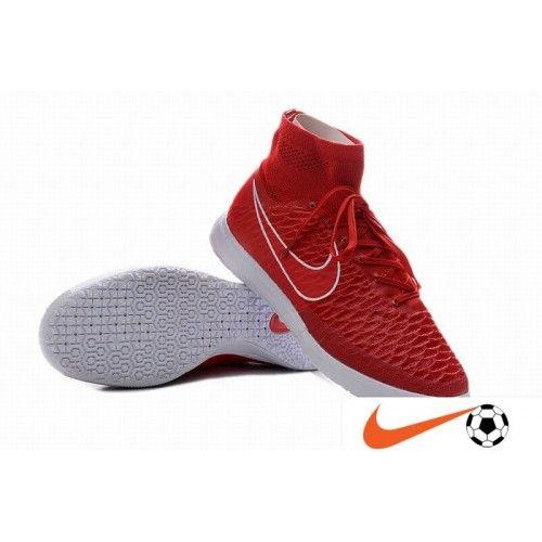 Billige Fodboldstøvler Tilbud - Nike MagistaX Proximo IC Chilling Rød/Bright Crimson Herre Fodboldstøvler