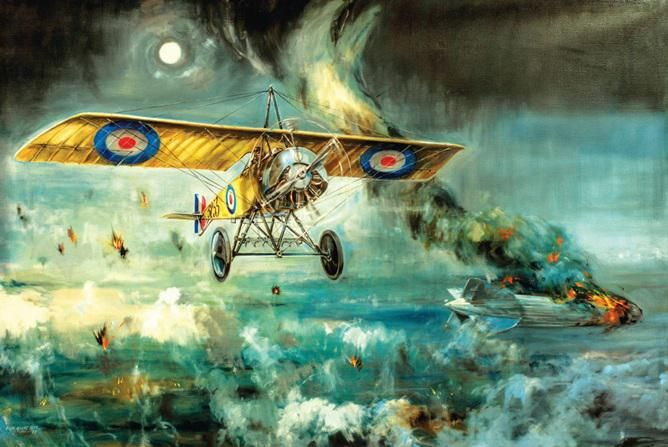 "WWI covered live on Twitter: ""7 June 1915 at Ghent, Belgium, Warneford, flying a Morane-Saulnier Type L, attacked LZ 37 http://t.co/jyYEYAb0sN http://t.co/y9Hq4KSYnK"""