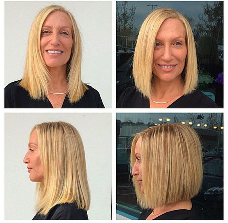 Before and After at Cie Sparks Salon in Malibu  #malibu #bob