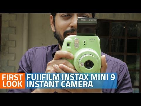 (19) Fujifilm Instax Mini 9 Instant Camera Unboxing and First Look - YouTube