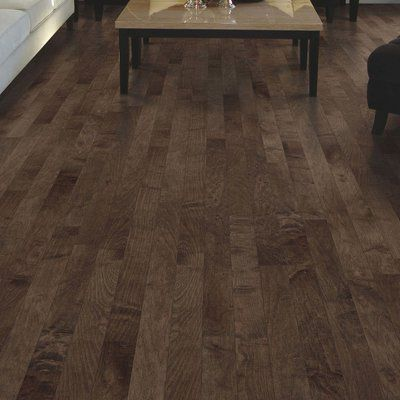 "Mohawk Randhurst Map SWF 3-1/4"" Solid Oak Maple Hardwood Flooring in Coffee"