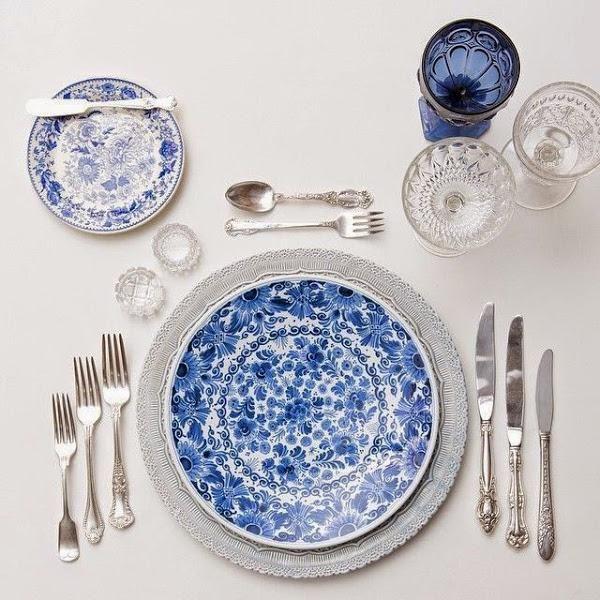 """DECORACIÓN   """"La mesa perfecta"""": cómo combinar vajillas, cristalerías y cubiertos para conseguir una mesa 10.   Decorar tu casa es facilisimo.com"""