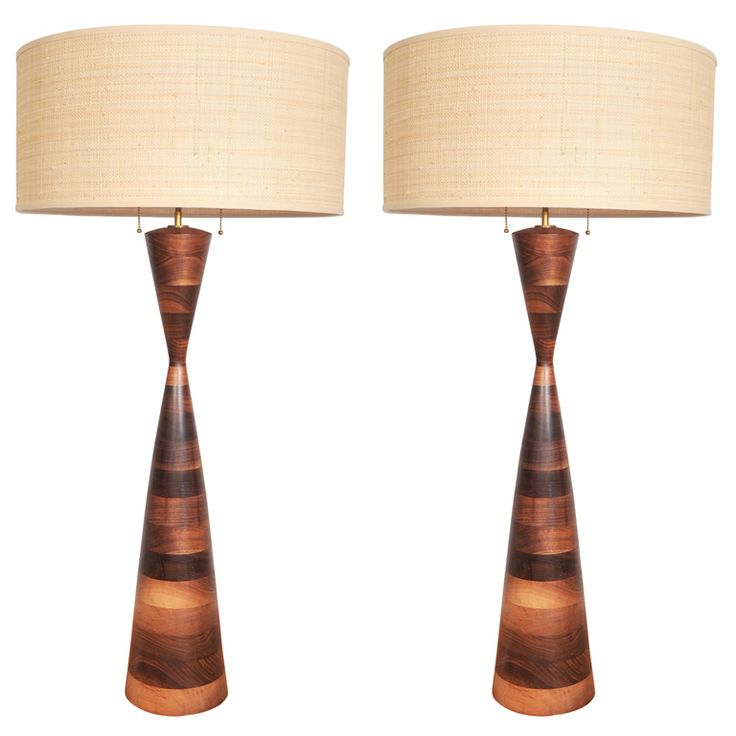 Pair of lamps by phillip lloyd powell