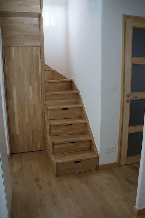 Brussels house, wood, warm design