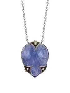Cathy Waterman - Tanzanite and Diamond Necklace
