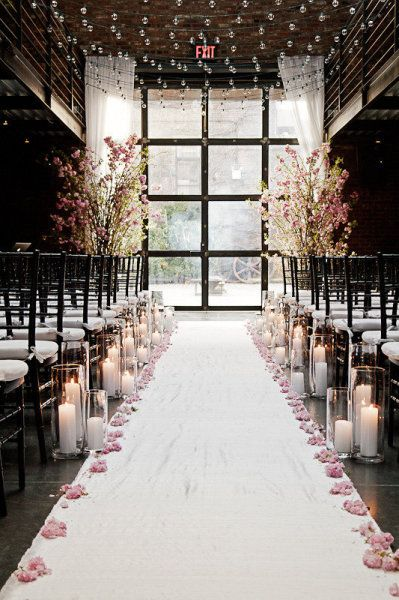 this is lovely: Ceremonydecor, Wedding Aisle, Wedding Ideas, Ceremony Decor, Beautiful, Candles, Winter Wedding, Flowers, Aisle Decor