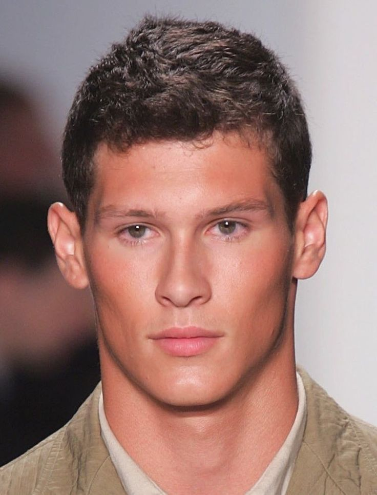 mens hairstyles curly top