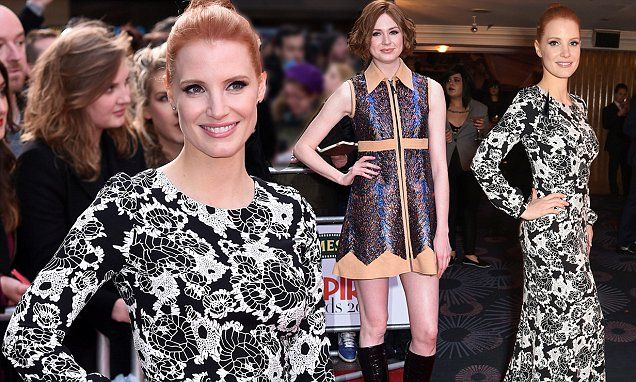 Jessica Chastain and Karen Gillan steal the show at Empire Awards