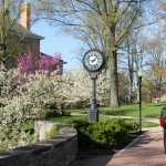 The most beautiful and green campus I know of: Denison University in Granville, OH