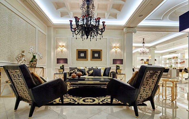Versace Home Jaipur Sofa Titan Arm Chairs Available At Our Sydney Showroom Visit Us And View The Entire Collection Of In 2020 Versace Home Versace Furniture Home