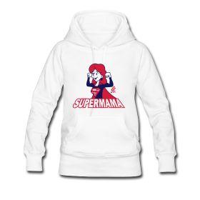 Super Mama hoodie #Spreadshirt #Tekenaartje #SOLD #mothersday #moederdag #mother #moeder