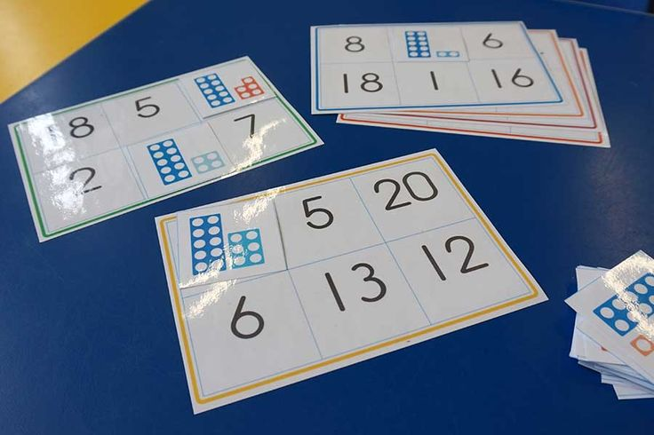 Numicon bingo is a super reinforcement for numicon recognition and counting. This is a 6 player game that my students are mostly able to play independently. Some children recognise the numicon pieces instantly while others count the dots. I use this activity as a warm up before introducing the main number concept. #math #number #numicon