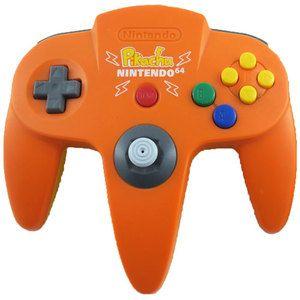 Original Controller Pokemon Orange - Nintendo 64 (N64)