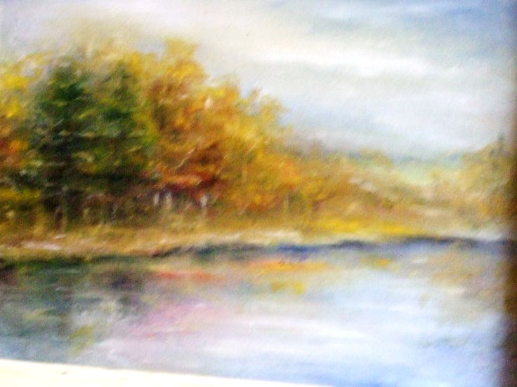 landscape oil painting on canvas 50/35 300 Euro