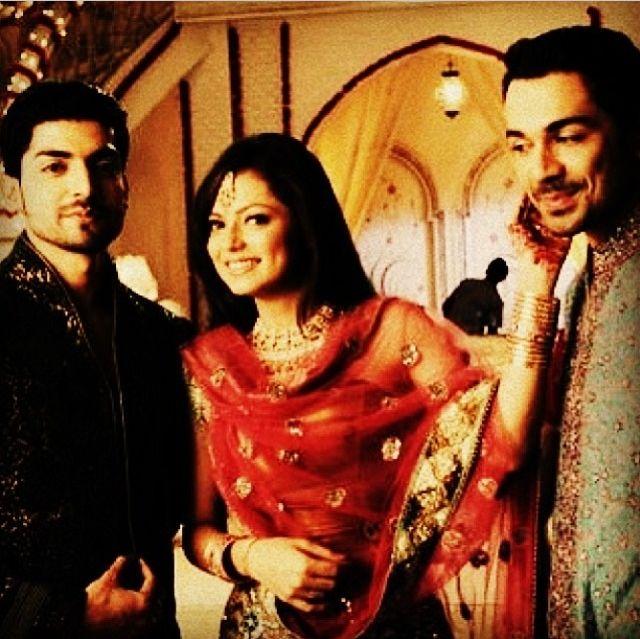Drashti Dhami, Abhinav Shukla & Gurmeet Choudhary as Geet, Dev and Maan ~~ Geet Hui Sabse Parayi