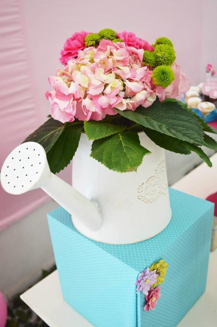 Garden Party Baby Shower Ideas | Butterfly Garden Party via Kara's Party Ideas | Kara'sPartyIdeas.com # ...