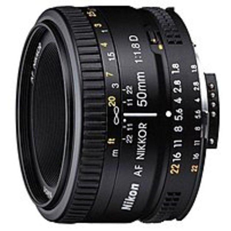Nikon 2137 50 mm f/1.8D AF Nikkor Lens for Nikon Digital SLR Cameras