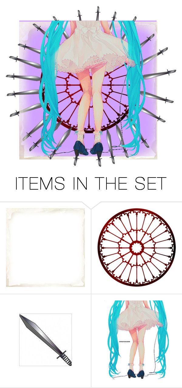 """""""The Secret Goldfish song"""" by mangledpanda ❤ liked on Polyvore featuring art, anime, song and vocaloid"""