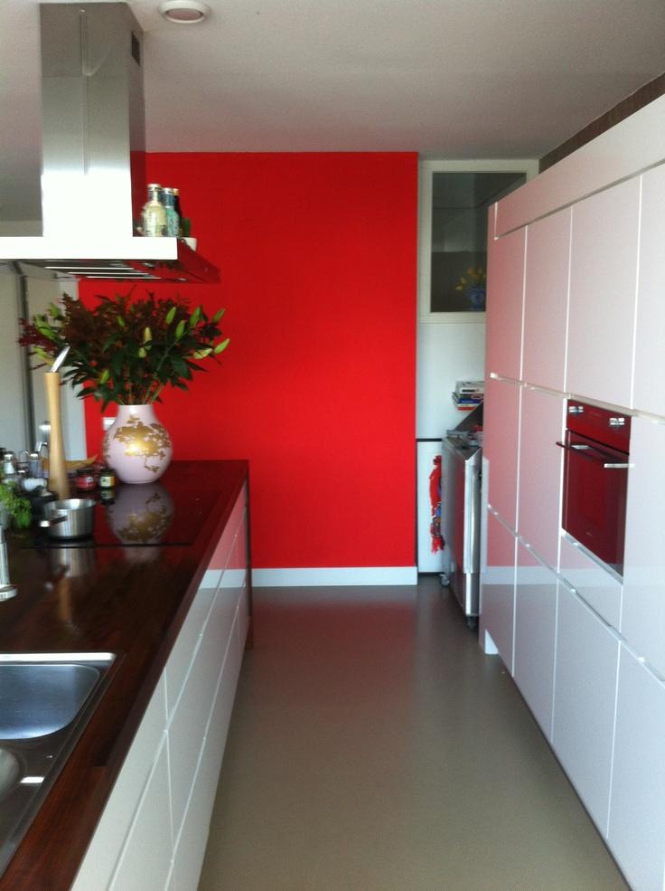 New kitchen wall colour 'Palermo'