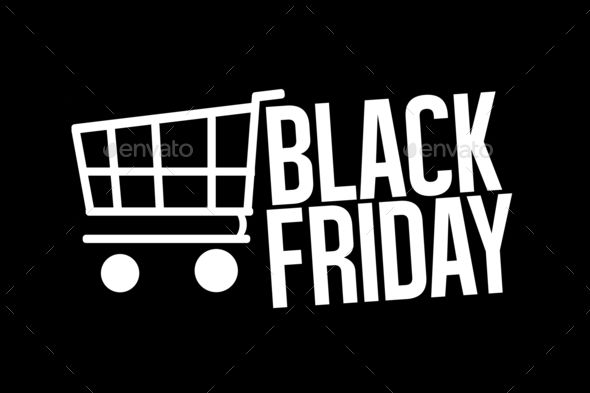 Black Friday Sale bold font - Stock Photo - Images