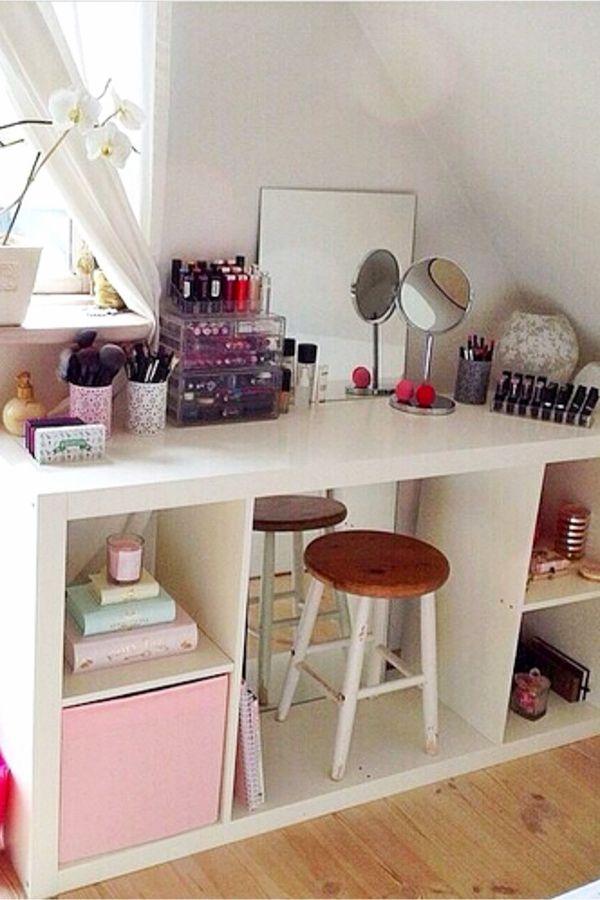10 Diy Storage Makeup Diy Exquisite Tutorials Small Bedroom
