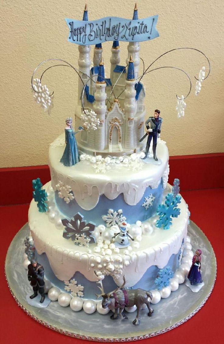Southern Blue Celebrations: More Frozen Party Cake Ideas ...