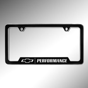 Equinox owners can add even more style to the exterior of their vehicle with this great looking Chevrolet Performance License Plate Holder This License Plate Holder utilizes a computerized lasergraphic precision engraving process Sharp crisp lettering and logos ensure clear visibility and an elegant appearance These Plate Holders are tested extensively with Cass 32 Salt Spray Adhesion Test ASTM D3359 car wash certifications and more Those tests are backed by a Limited Lifetime Warranty which…