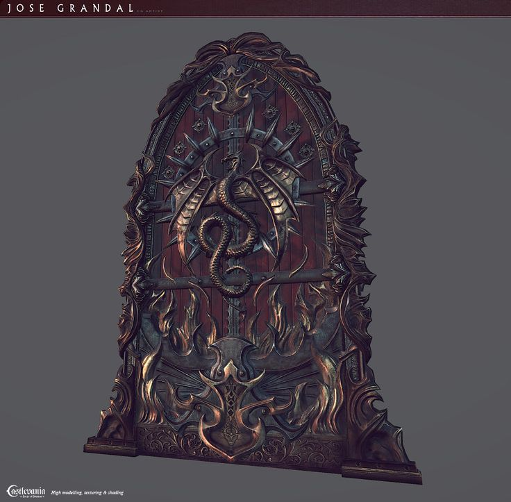 Door Throne, Jose Grandal on ArtStation at http://www.artstation.com/artwork/door-throne