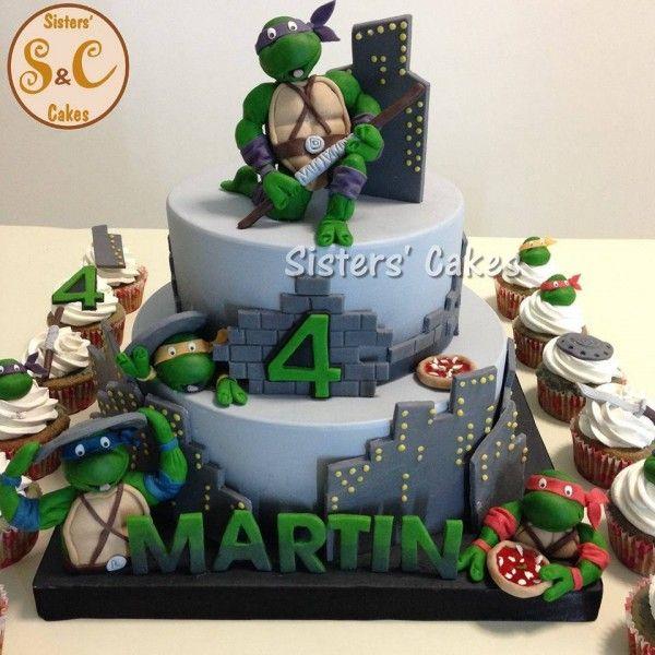 torte tartarughe ninja turtles cakes