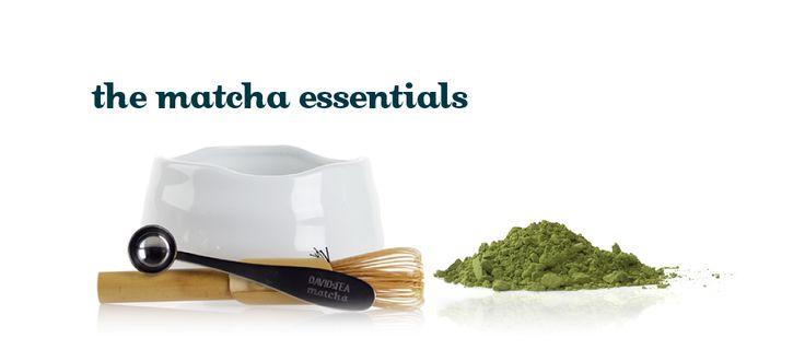 The Matcha Essentials by DavidsTea