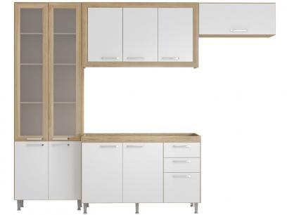 Cozinha Compacta Multimóveis Toscana 10 Portas - 3 Gavetas com as melhores condições você encontra no Magazine 32darc. Confira!