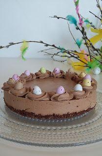 Marenkia, marenkia!: Suklaajuustokakku ilman liivatetta