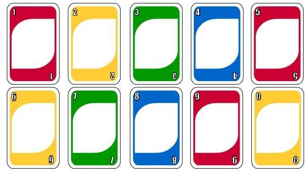 Image Result For Uno Card Template With Images Uno Cards