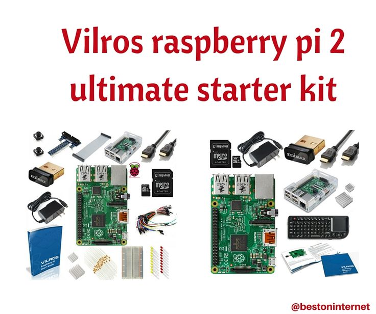 Vilros raspberry pi 2 ultimate starter kit  http://www.bestoninternet.com/compute/electronics/best-raspberry-pi-starter-kits/  Vilros #raspberrypi 2 starter kit is the excellent choice If you are the beginner at raspberry Pi. This kit comes with all components that will need to build project like wifi dongle, case, cable etc.