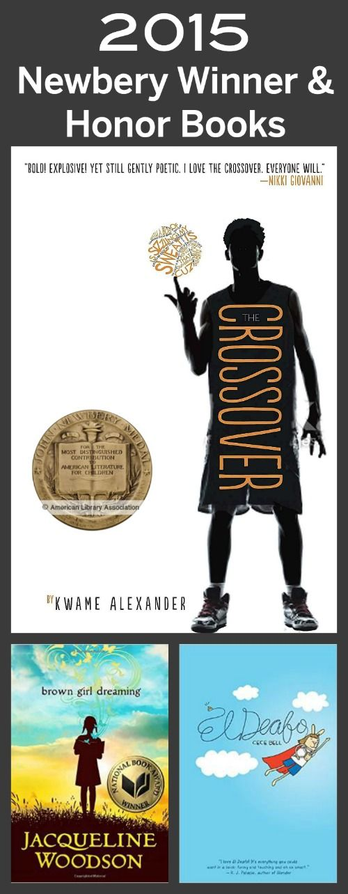 Have you read these yet? The 2015 Newbery winner & honor books!!!