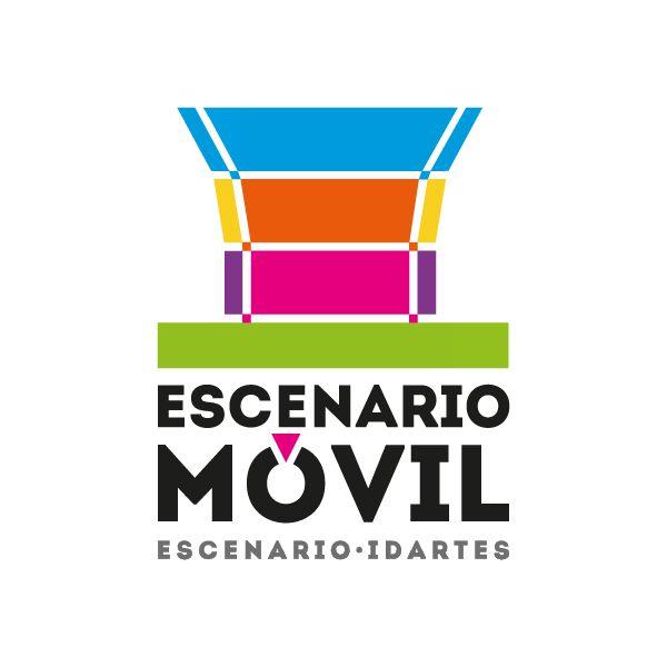Logo / Escenario Móvil. Diseño: Daniel Roa. Bogotá, 2014.