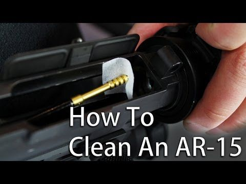 How to Field Strip and Clean your AR15 - YouTube