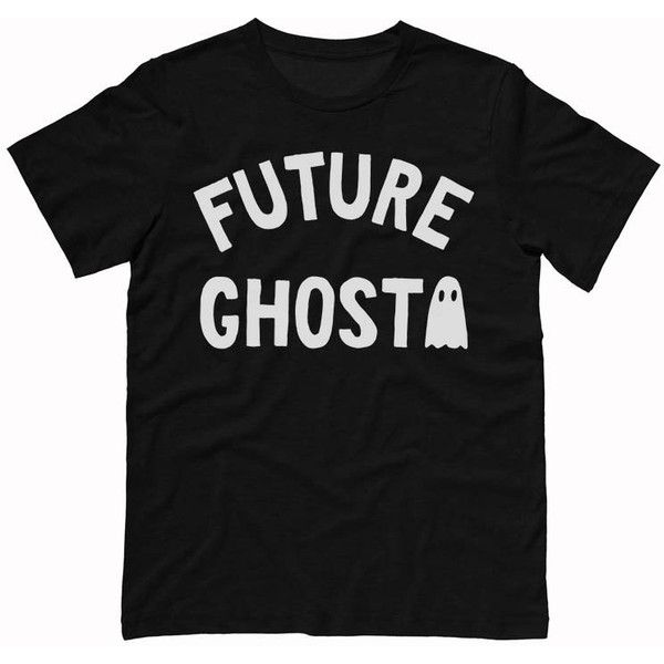 Future Ghost Tee Shirt, Halloween Shirt, Dead Inside Shirt, Grunge... (24 CAD) ❤ liked on Polyvore featuring tops, t-shirts, going out shirts, grunge shirts, grunge t shirts, tee-shirt and party tops
