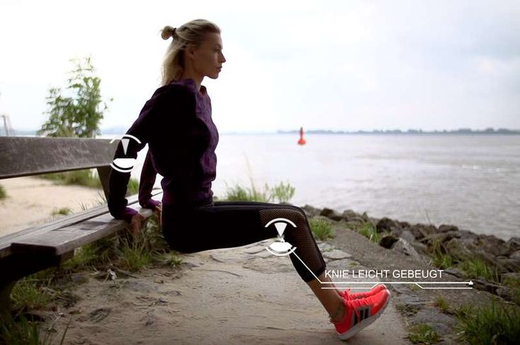 #Dips #Triceps #Workout #LeaLight #Bodyweight #FunctionalFitness #Outdoor #DeineZeit
