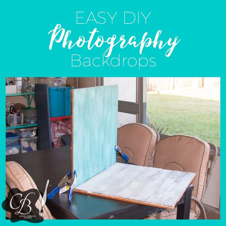 Easy DIY Photography backdrops #tips