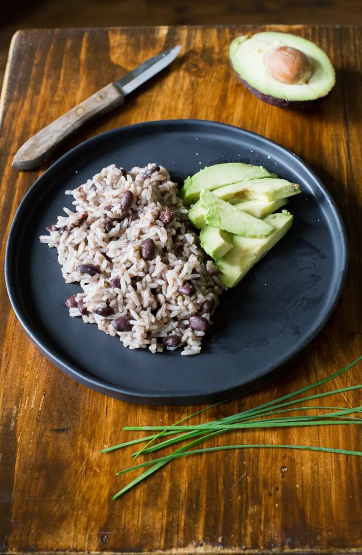 Moros y Cristianos, Cuban Black Beans with rice.  Sponsored by Bush's Beans #ad #sponsored