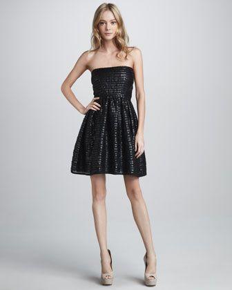 Val Strapless Bustier Dress