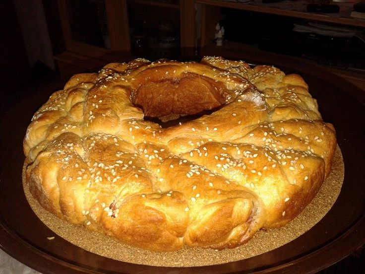 Daddy Cool!: Πιτα-κρουασαν γεμιστη με ζαμπον και τυρί απο την Ερμιόνη Καλογερα!
