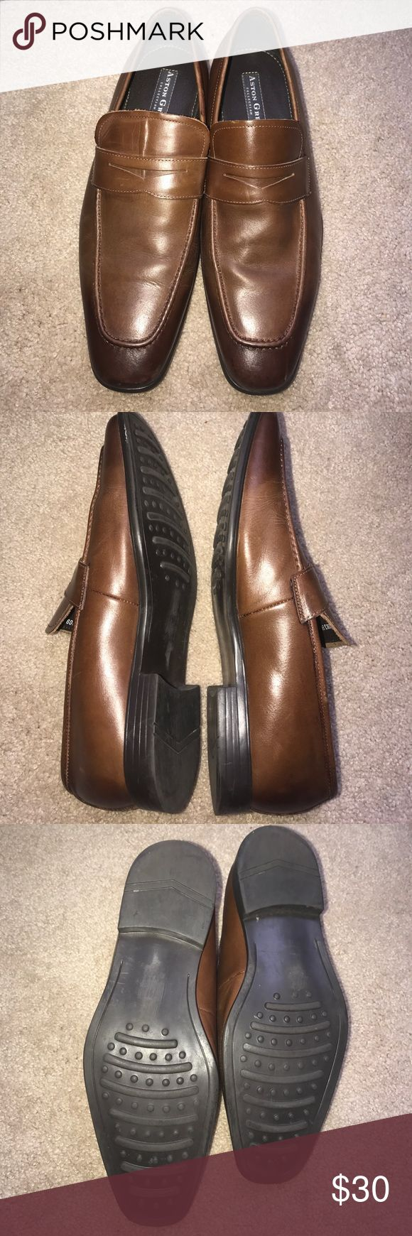 "Aston Grey ""Hastings"" Shoes size 10 Men shoes in good condition and  normal wear Aston Grey Shoes Loafers & Slip-Ons"