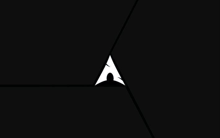 arch linux wallpaper black - photo #18
