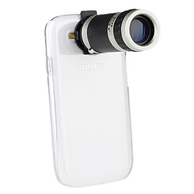 Telescope 8X Zoom Camera Lens with Case for Samsung Galaxy S3 I9300 – USD $ 13.99