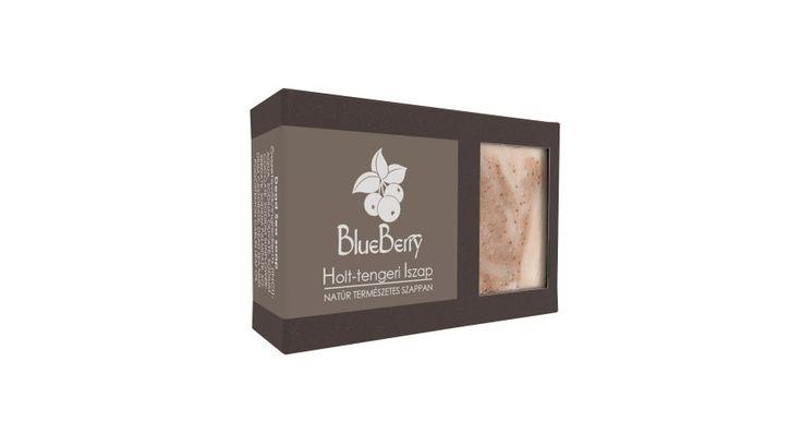 Blueberry Holt-tengeri iszap szappan