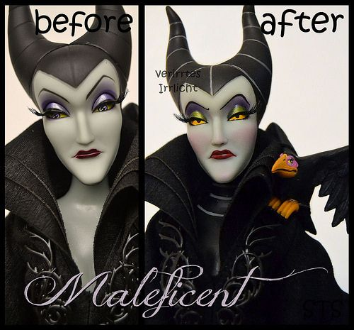 repainted maleficent and prince - photo #6