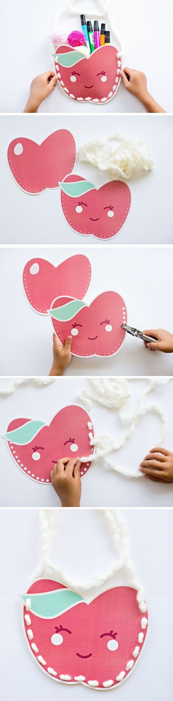 Free Printable Kawaii Purse | Click Pic for 23 DIY Christmas Gifts for Teachers From Kids | DIY Teacher Appreciation Gifts from Students